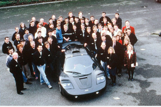Amazing Story of How the 1st McLaren F1 Was Born