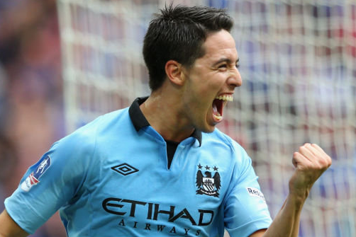 Samir Nasri Staying with Manchester City Despite Links to PSG