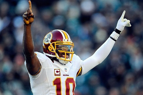 Robert Griffin III Is the Featured NFL Player in New EA Sports Game System Promo