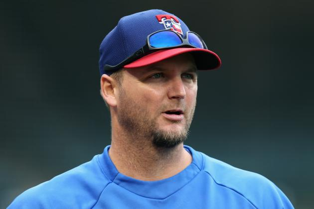 Rangers Officially Activate A.J. Pierzynski off DL Among 4 Roster Moves