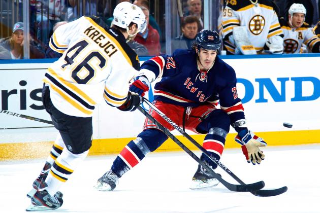 Boston Bruins vs. New York Rangers Game 3: Live Score, Updates & Analysis