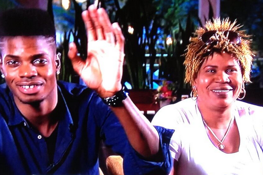 PHOTO: Nerlens Noel's Mom Steals NBA Draft Lottery with Hair