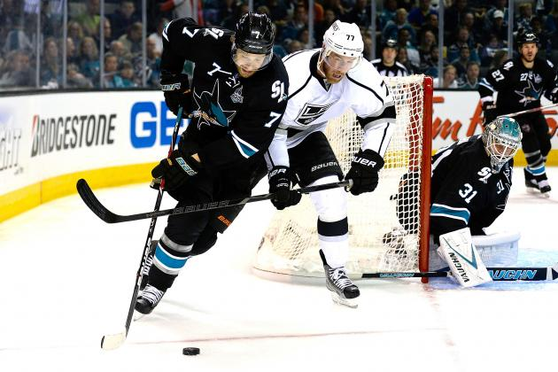 Los Angeles Kings vs. San Jose Sharks Game 4: Live Score, Updates and Analysis