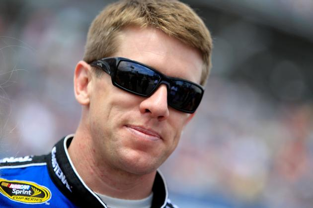 Carl Edwards' Secret to NASCAR Sprint Cup Series Success: Physical Conditioning