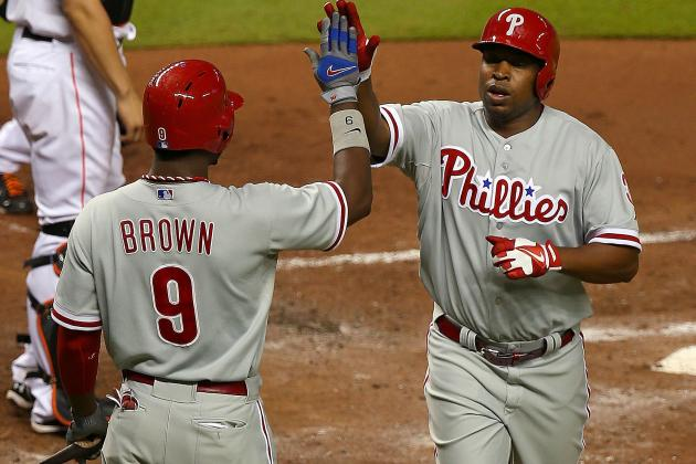 Delmon Young, Howard Carry Phillies over Marlins
