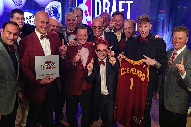 Nick Gilbert and Machine Gun Kelly Provide Cavs with Good Luck at NBA Lottery