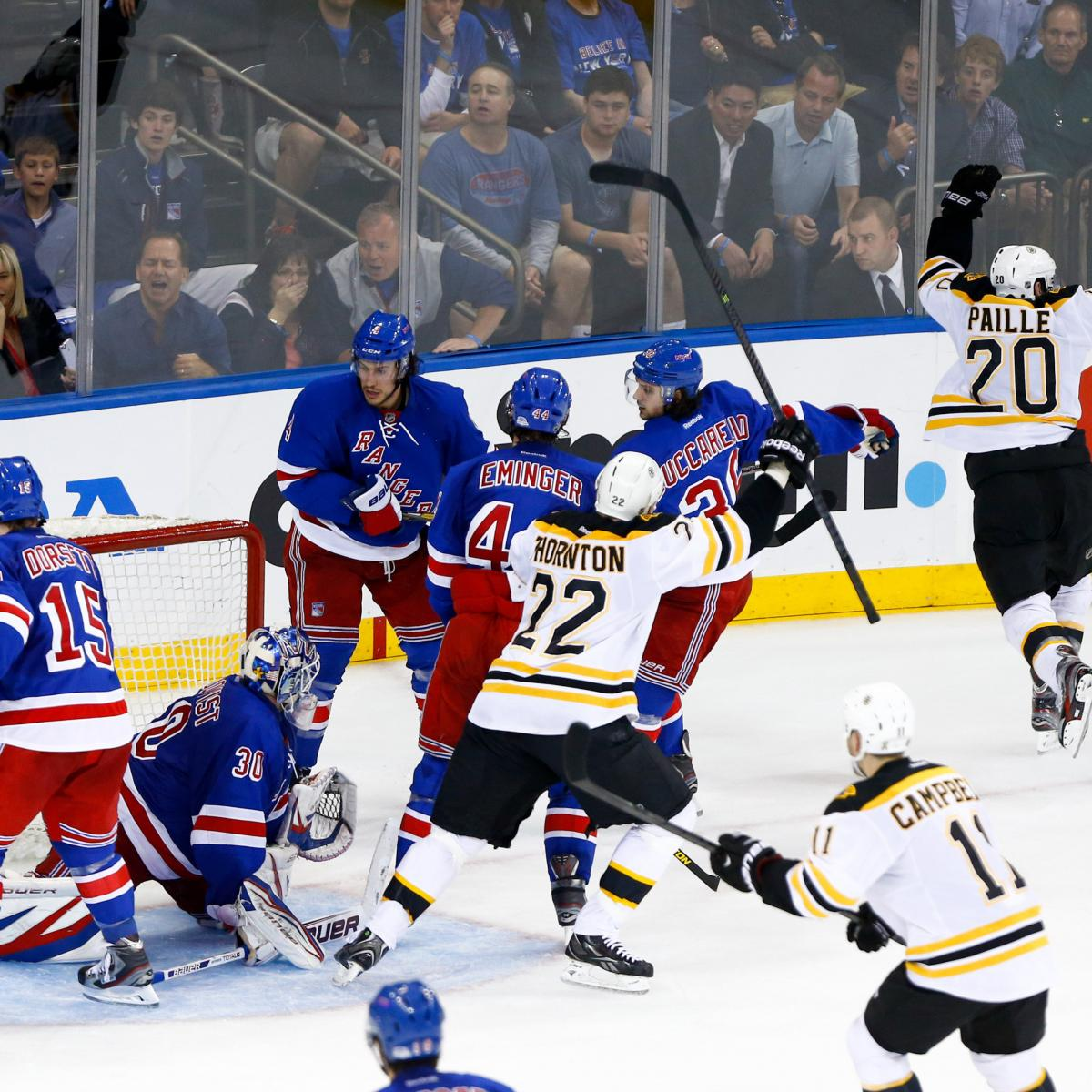Bruins vs. Rangers: How Will New York Respond to Playoff ...Bruins Bleacher Report