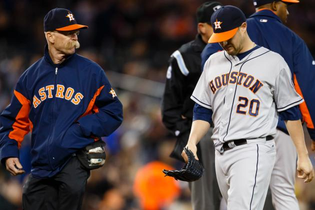 Bud Norris Leaves Game with Back Stiffness