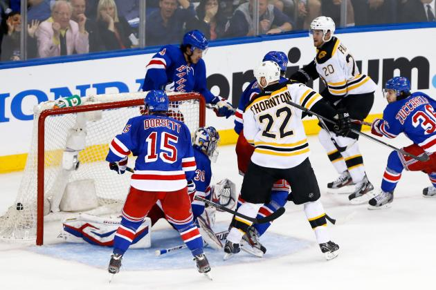 Video: Daniel Paille's Rebound Goal on Bizarre Ricochet off Lundqvist