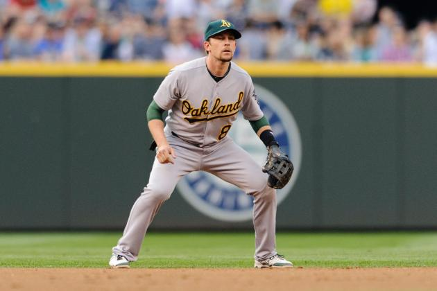 Lowrie Will Not Play Tomorrow vs. Rangers Due to Right Foot Contusion