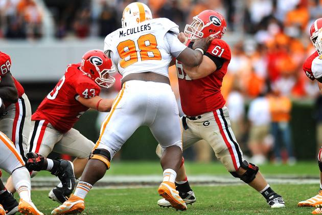 The Biggest Thing in College Football? Literally, Tennessee's Daniel McCullers