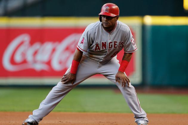 Erick Aybar Left Tonight's Game with Right Knee Soreness