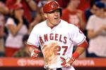 Mike Trout Hits for Cycle vs. Mariners