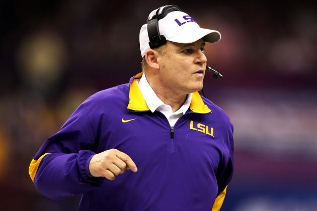 Les Miles Has No Problem with Decommitment