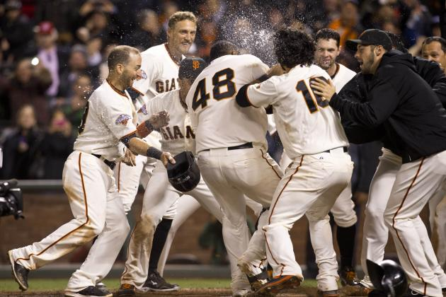 Instant Replay: Giants Walk off on Sandoval's Tape-Measure Shot