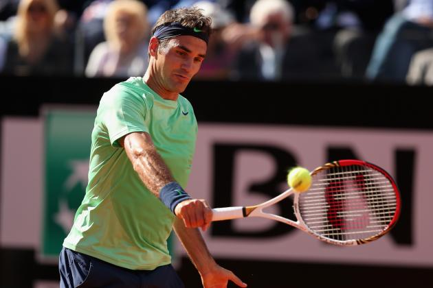 French Open 2013: About That Roger Federer Backhand Versus Rafael Nadal