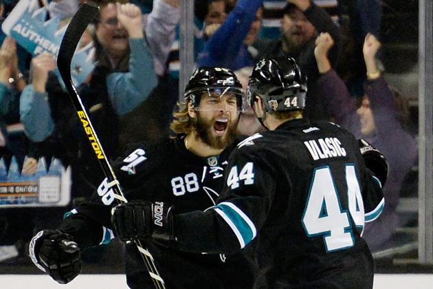 San Jose Sharks' Brent Burns Shows Good and Not-so-Good Side