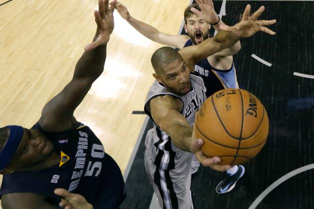 Spurs 93, Grizzlies 89 (OT): Grit and Grinded