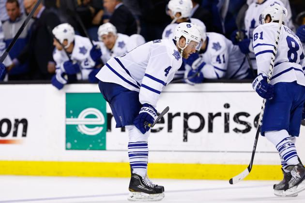 Figuring Out What Went Wrong for Toronto Maple Leafs in 2013 NHL Playoffs