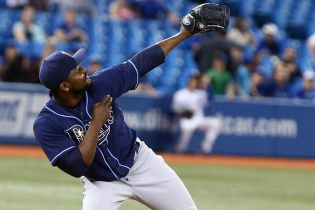 Rays Hang on to Beat Blue Jays