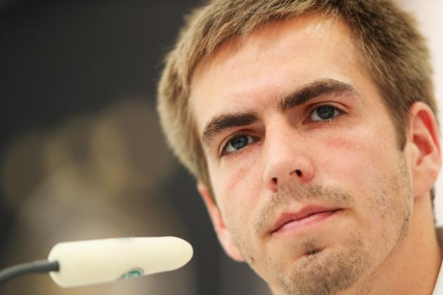 Champions League Final: Bayern Captain Philipp Lahm in Focus