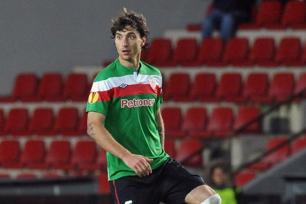 Amorebieta Arrives