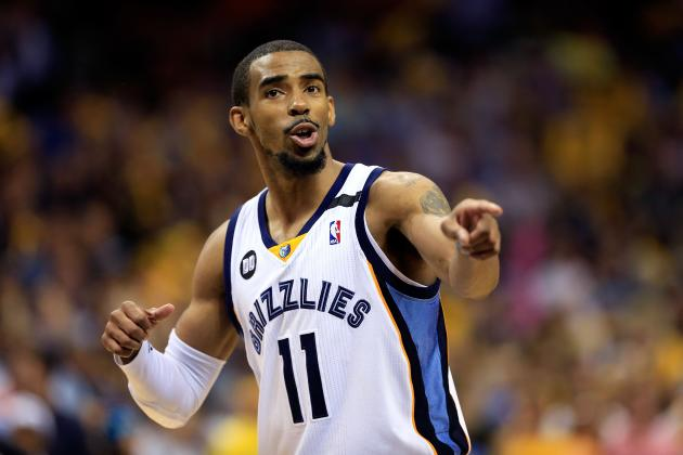 2013 NBA Playoffs: Grizzlies G Mike Conley Jr. Has Become an Elite PG