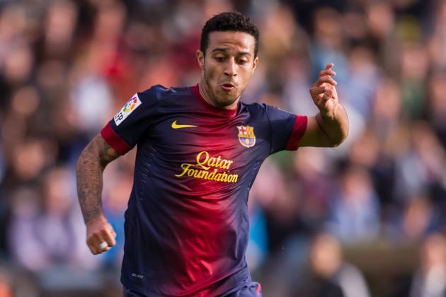 Manchester United Target Barcelona Starlet Thiago Alcantara