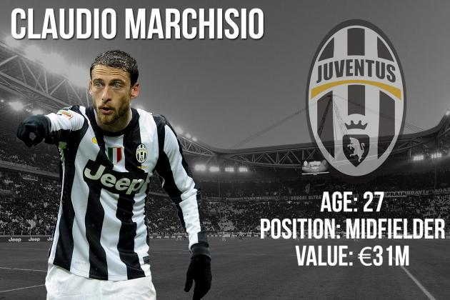 Claudio Marchisio: Summer Transfer Window Profile and Scouting Report