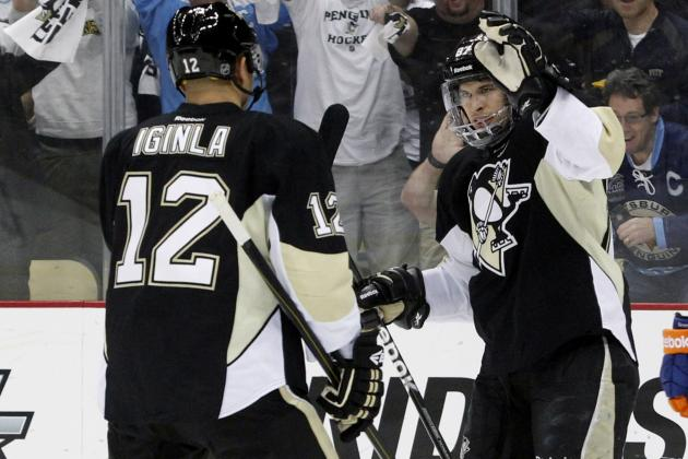 Why Doesn't Bylsma Keep Iginla with Crosby?