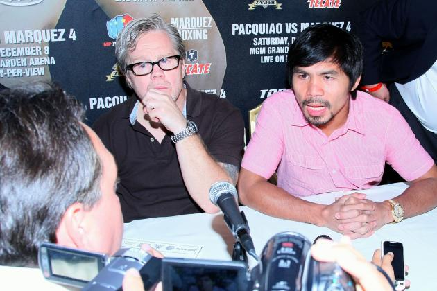 Manny Pacquiao Upset at Juan Manuel Marquez Says Freddie Roach
