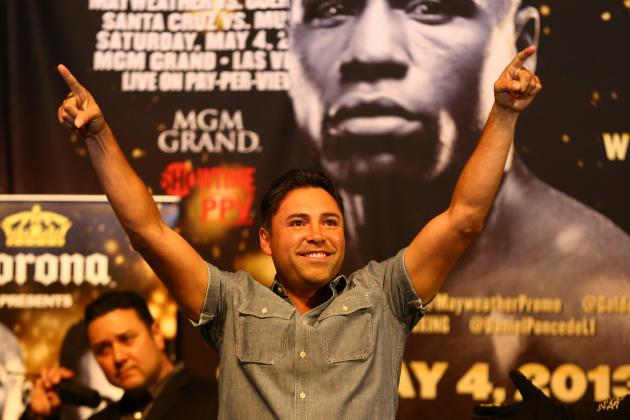 De La Hoya: I Think Mayweather Will Fight Canelo