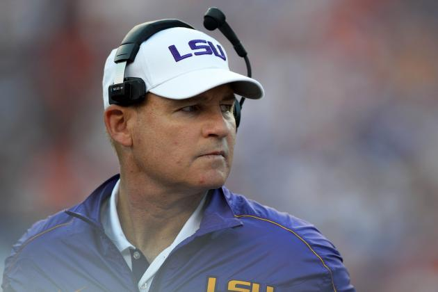 LSU Head Coach Les Miles Won't Get His Wish Regarding Future SEC Scheduling