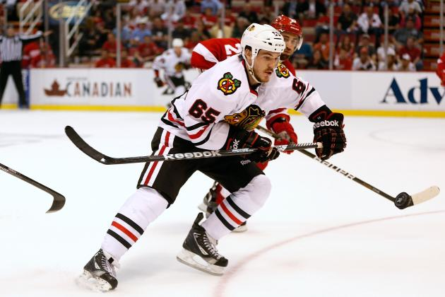 Chicago Blackhawks: Does Andrew Shaw Need to Get His Game Under Control?