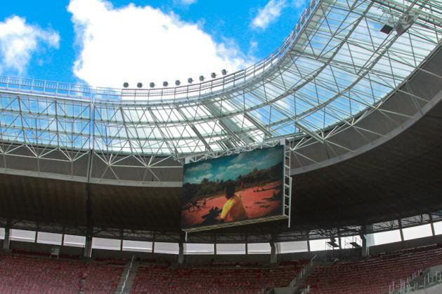World Cup 2014: Brazil Opens 46,100-Seat Arena Pernambuco Stadium