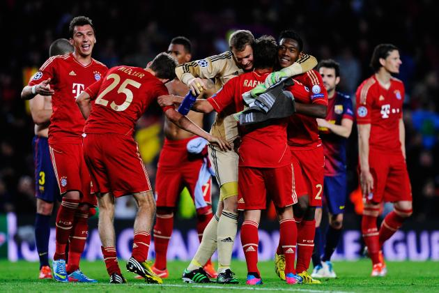 UEFA Champions League: Plotting Bayern Munich's Path to the Final