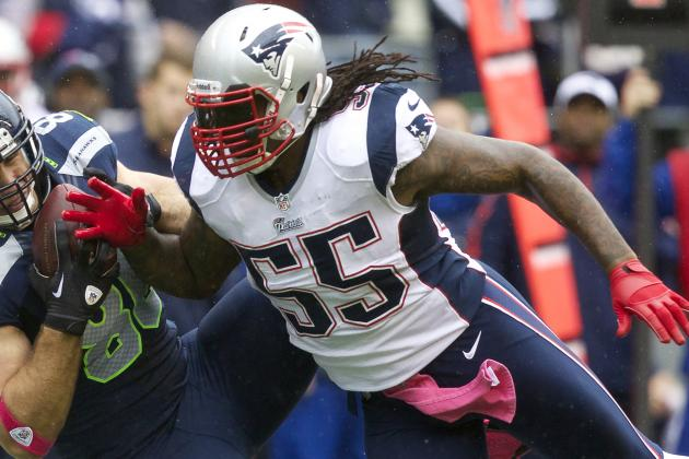 Spikes' attitude may mean end with Pats after '13
