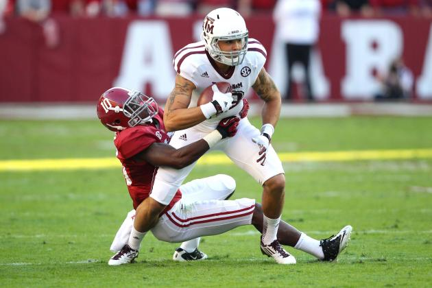 Alabama vs. Texas A&M Headlines SEC on CBS for 2013 College Football Season