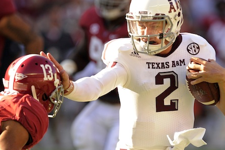Alabama at Texas A&M Kicks of SEC on CBS 2013 Schedule