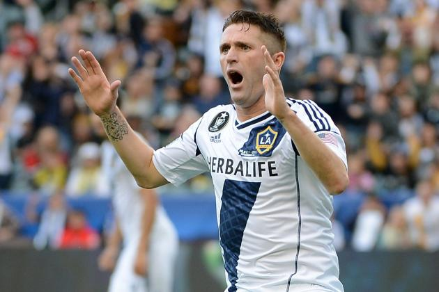 LA Galaxy Forward Robbie Keane Released for Ireland Friendlies
