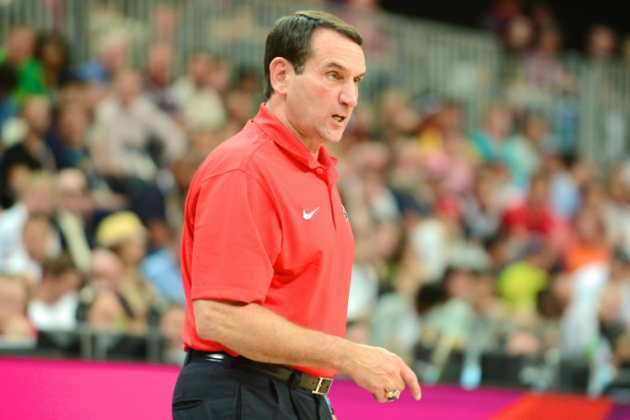 Mike Krzyzewski Will Return as Team USA Head Coach for 2016 Olympics