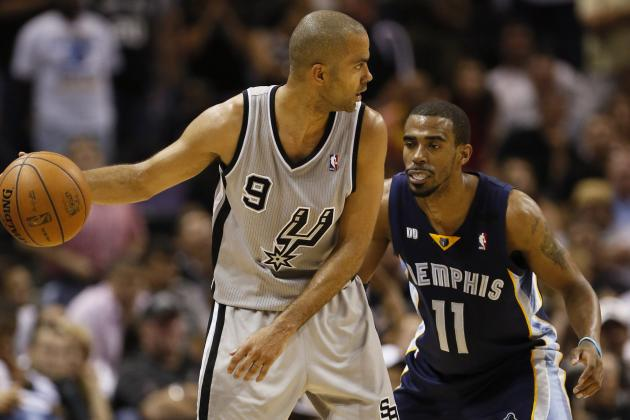 Spurs' Parker Getting MRI on Ailing Left Calf