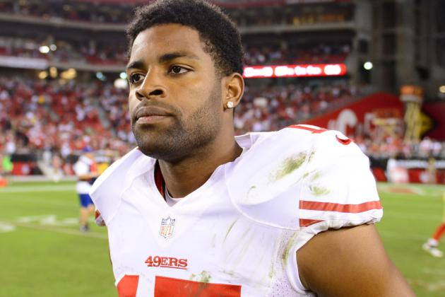 49ers Receiver Michael Crabtree Has a Torn Achilles