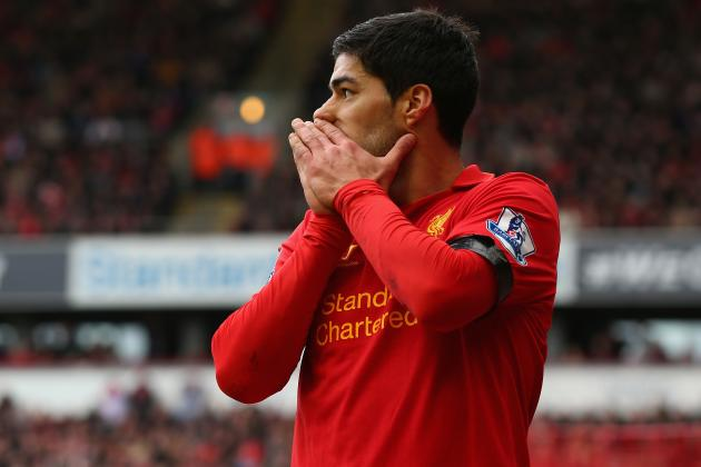 Luis Suarez Must Remain at Anfield for Liverpool to Contend in 2013-14