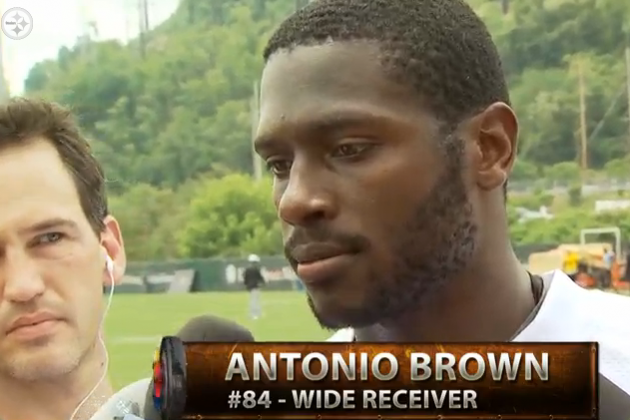 Antonio Brown and Emmanuel Sanders Interviews