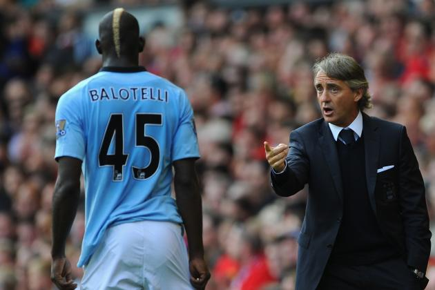 Manchester City: Why Mario Balotelli Is Roberto Mancini's Biggest Regret