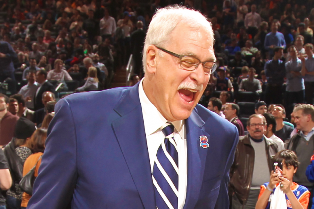 Phil Jackson Laughed When Lakers Told Him Mike D'Antoni Was Better Fit for LA