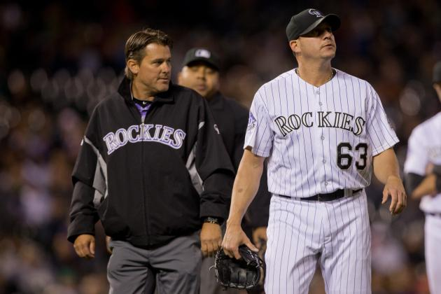 Rafael Betancourt Expects to Be Ready for Rockies by Friday vs. Giants