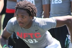 Oakland Nike NFTC: Top Performers Offense 2014 Joe Mixon
