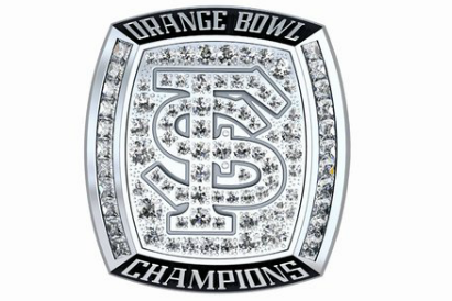 Florida State's Orange Bowl Rings Are Nice